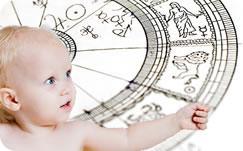 В какое время родился ваш ребёнок?