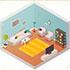Сочинения (топики) для школьников по английскому на тему «Моя квартира / My flat»