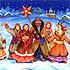 Подборка текстов наиболее популярных праздничных рождественских колядок на украинском языке.