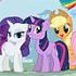 """Раскраски """"Мой маленький пони"""""""